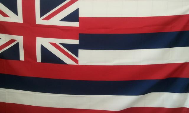 ハワイの旗。