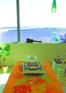 海の見える個室で贅沢にロミロミ
